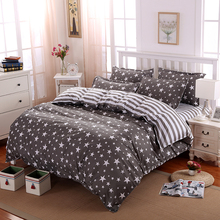 Wholesale High Quality Duvet Cover 3/4 pcs Twin Full Queen Size Set of Bed Linen Luxury Bedding Set Floral Bed Linen Bedclothes(China)