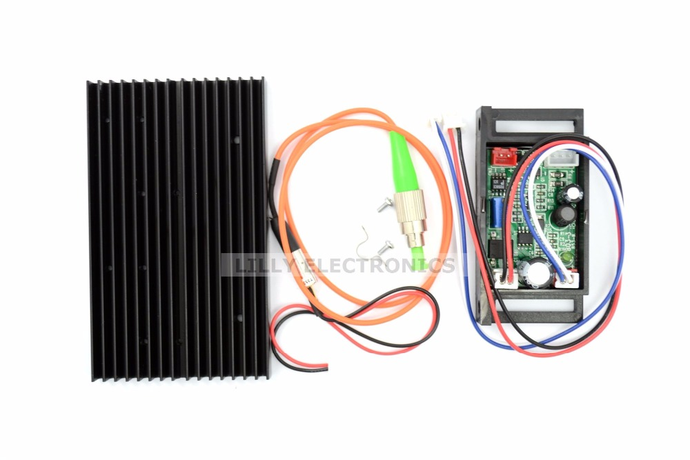 658nm 10mw Pigtail Fiber Laser 62.5/125um FC/UPS-Fiber Jumper Test<br>