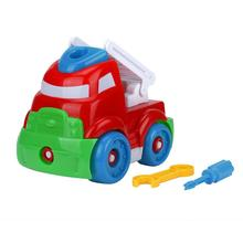 New Fashion Model Early Learning Toys Vehicles Easter Birthday Gift Child Baby Boy Disassembly Assembly Cartoon Dump Truck Toy(China)