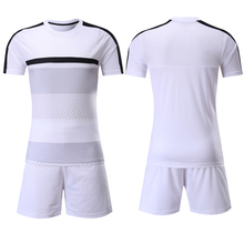 2016 New Design Stock Soccer Uniform white color av