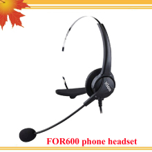 FOR600 telephone headsets noise cancelling earphones for call center SOHO phone 5pcs/lot free shipping(China)