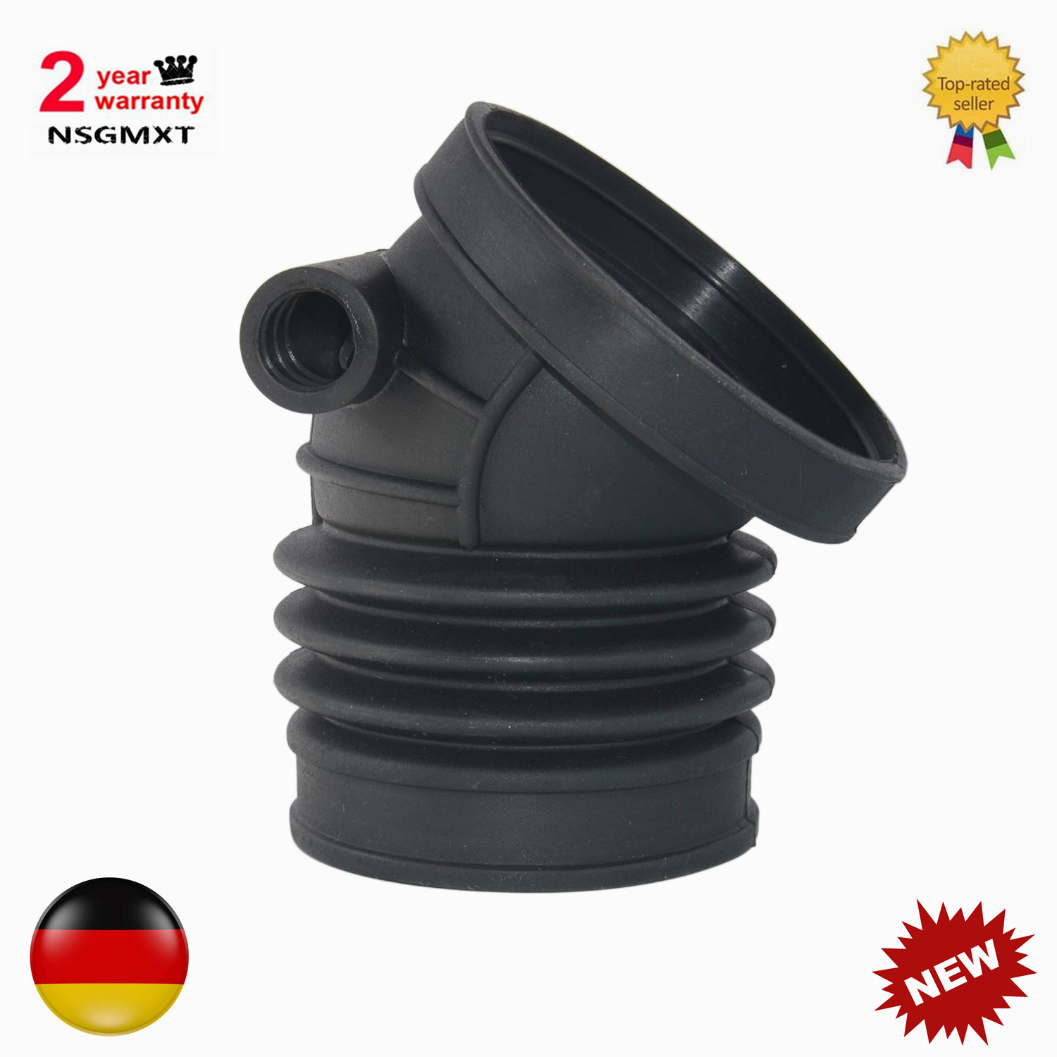 Fit BMW M3 Z3 328i 3 Series Engine Rubber Air Intake Boot Hose Pipe  13541740073