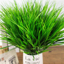 1PCS New Style Clover Plant 7-fork Green Grass Artificial Plants For Plastic Flowers Household Store Dest Rustic Decoration