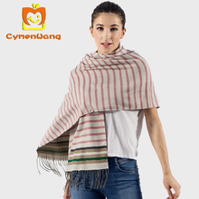 Cymenwang 2017 Fashion Scarf Long Scarves Plain New Designer Blanket Women Wrap Cashmere Scarf Shawl Pashmina For Winter Wraps(China)