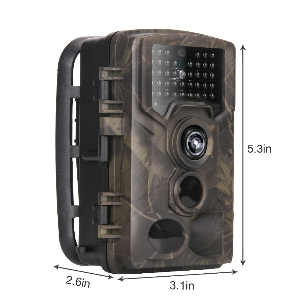 HC-800M 12MP 1080P Wildlife Camera Photo Traps Night Vision Trail Camera 2G GSM GPRS MMS SMTP Game Hunting camera