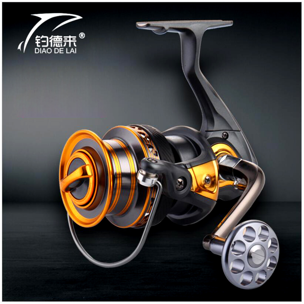 FDDL 13+1BB spinning reel large long shot wheel fishing reel 14BB sea salt water spinning reel carretilha pesca<br>