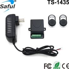 Saful 12V Electric Lock remote control+remote unlock Door Access Switch Electric Control Lock Gateway Access Control System