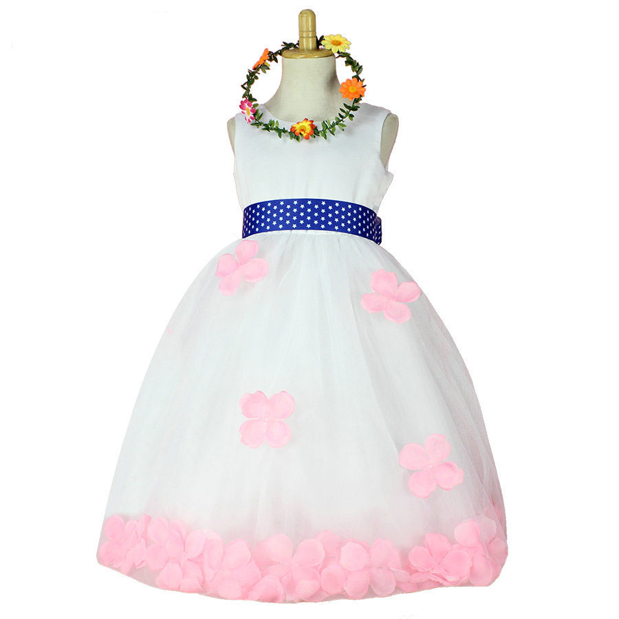 fashion sleeveless designer flower girl dresses canada uk us online<br><br>Aliexpress