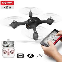 LeadingStar SYMA X23 X23W Mini Set Height RC Quadcopter 360 Degree Rotation Drone Aircraft with Camera RC drone(China)