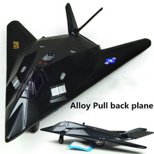 Big sale, alloy Full back Airplane model Toy Vehicles , black Diecasts Airplanes toys, free shipping