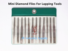 12 pieces/Set Assorted Diamond For Lapping Grinders Taper Files for Grinding Hard Metal Nonmetal(China)