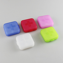 10Pcs 4 Layer Tablet Pill Box Storage Organizer Container Holder Medicines Case for Splitters Medicines Organizer(China)
