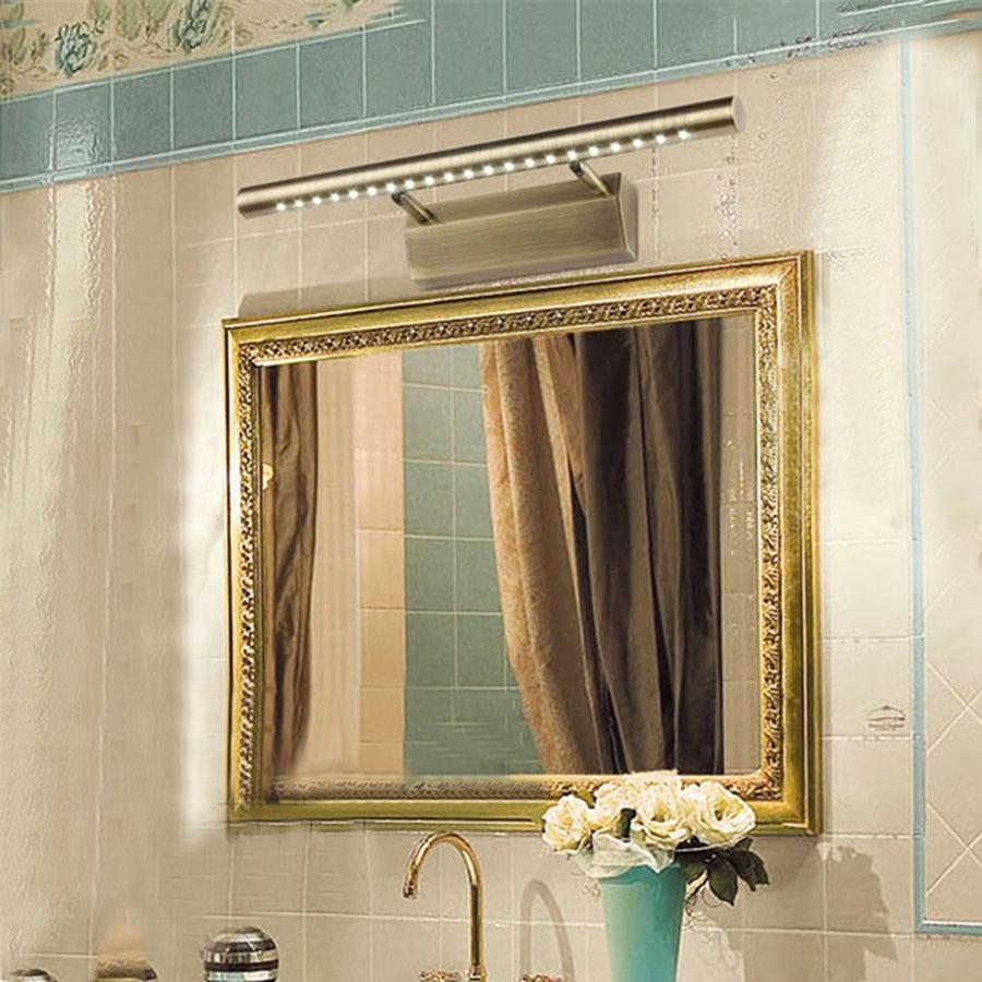 5W 40CM Modern Bathroom LED Mirror Light Anti-fogSMD 5050 Bedroom Headboard Waterproof  Wall Mounted Sconce Lamps AC220V<br><br>Aliexpress