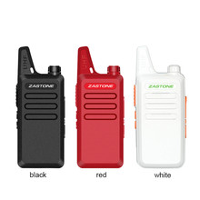 Zastone X6 UHF 400-470Mhz Handheld Radio Mini Portable Walkie Talkie Two Way Ham Radio for children walkie talkie toy