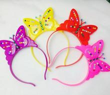 Ailin Diamond headband diamond bow Hot toys Halloween Christmas cheer props Masquerade Party decoration free shipping 100pcs/lot