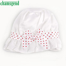 Toddler Kids Infant Sun Cap Newborn Baby Girl Boy Summer Sun Polka Dots Beanie Cute Baby Hat Cap 2-12 Months Jan27