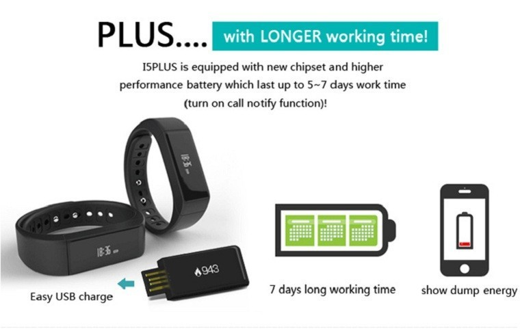 Original iwown I5 Plus Smart Bracelet Bluetooth Activity Wristband Fitness Sleep Tracker Reminder Passmeter Sports Watch 12