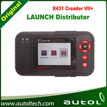 DHL Free Fast Shipping Best Auto Code Scanner Launch x431 Creader VII+ Creader 7+ With Multi-Language(China)