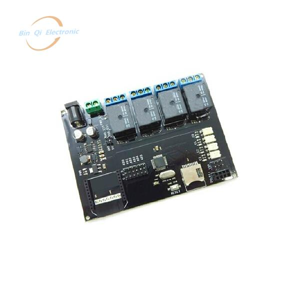 NEW 4 opto-isolated relay development board learning board with mega32 8<br><br>Aliexpress