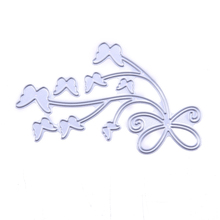 Nice Butterfly Pattern  Metal Cutting Dies DIY Flower Decorative Scrapbooking Embossing Album Craft Card Carbon Steel Template