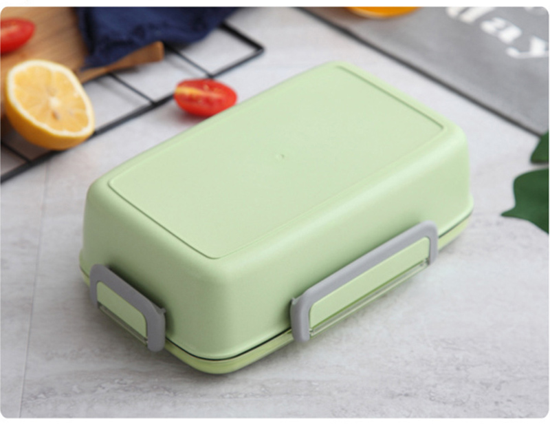 TUUTH New Microwave Lunch Box Independent Lattice For Kids Bento Box Portable Leak-Proof Bento Lunch Box Food Container A2