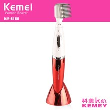 Kemei Electric Mini Eyebrow Women Trimmer Lady Epilator Body Hair Removal Shaver Face Skin Care Shaving Machine Bikini Underarms
