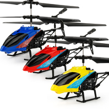 2017 New JX-807 2 CH 2 Channel Mini RC Helicopter RC Drone With Crash Resistant RC Toys Electronic Toys For Kids Boy Gifts(China)