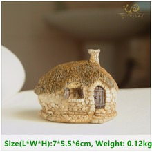 ED original quality design fairy house micro landscape nostalgic resin furnishing articles craft supplies fairy garden statues(China)