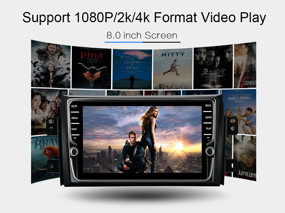 Android 8.1 car dvd for Suzuki SX4 2007-2013 with 2GB RAM gps 3G 4G wifi gps navigation radio video audio player car stereo