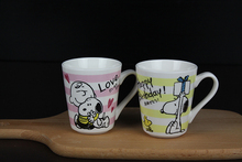 Japan Movie Peanuts Woodstock Dog Cartoon Ceramic Cute Coffee Mug Cup Gift