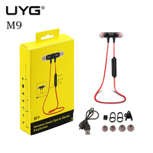 UYG M9 bluetooth earphone wireless earphones microphone phone auriculares earbuds sport running stereo fone de ouvido PK a920bl