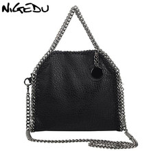 Buy NIGEDU Design Women Handbag Small Bag Female Shoulder Bag Chain Soft Pu Leather Crossbody Messenger Bags Women Totes Clutches for $24.60 in AliExpress store