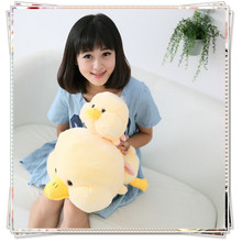 Large yellow duck kawaii pokemon kids toys ty plush animals spongebob soft toys for bouquets stuffed animals baby toys