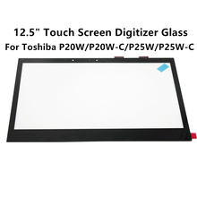 "LCDOLED 12.5"" Touch Screen Digitizer Glas Panel Laptop For Toshiba Satellite Radius P20W P20W-C P25W P25W-C Series(China)"