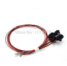 VW door light wire harness Door lamp cable set for Volkswagen Golf mk6 mk7 Passat CC_220x220 compare prices on harness door online shopping buy low price BMW R80 Wiring Harness at gsmx.co