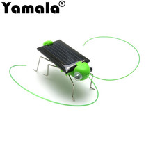 [Yamala] Mini Kit Novelty kid Solar Energy Powered Spider cockroach Power Robot Bug Grasshopper educational gadget Toy for kids