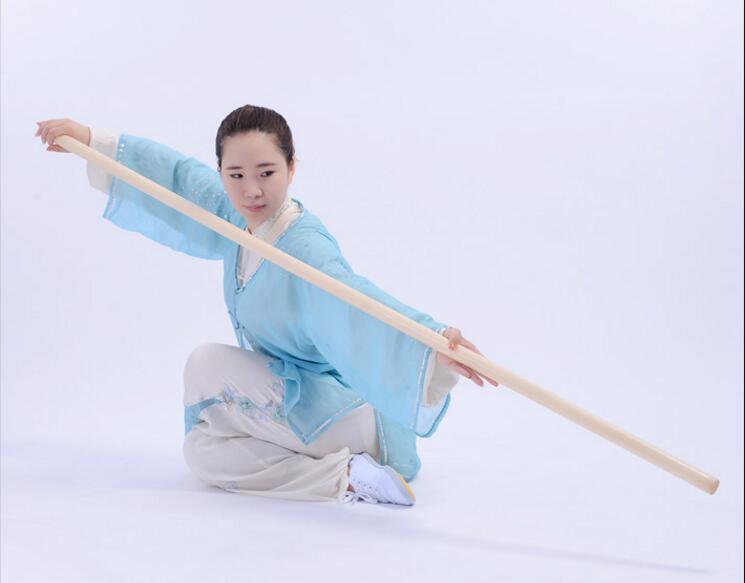 Black Hardwood Martial Arts Practice Stick Bo Staff 2 Sizes to Choose From