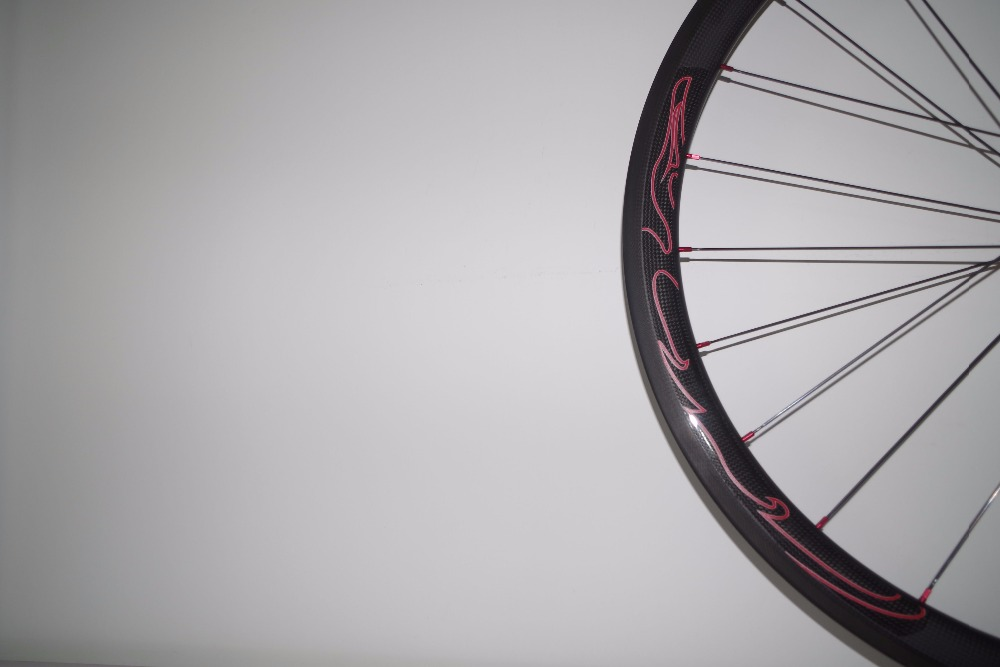 40mm carbon wheels tubeless clincher