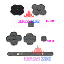 For 3DS XL LL Silicon Conductive Rubber Button Pad Set Replacement Part For 3DS NDSL