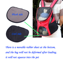 Pet Carrier Shoulders Back Front Pack Dog Cat Travel Bag Mesh Backpack Head out Design Travel Adjustable Shoulder Strap New Gift