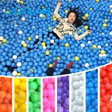Lightaling Ocean Colorful Ball Baby Kid Swim Pit Toy Water Pool 100pcs/ sets Wave Ball Eco-Friendly Outdoor Fun Sports Toys