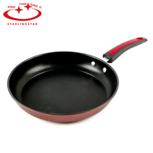 Non-stick Copper Cast Iron Frying Pan With Ceramic Coating And Induction Cooking Pans Round Saucepan Skillet Kitchen Accessories(China)