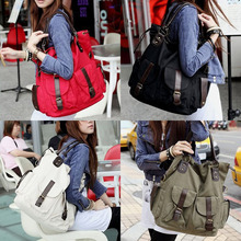 Fashion Korea Style Lady Girls Casual Canvas Large Tote Bag Handbag Shoulder Bag High Quality LBY2017(China)