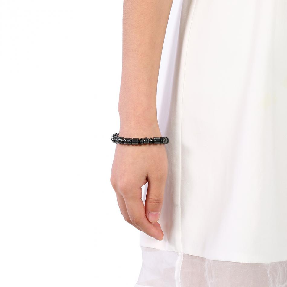El Tratamiento Adelgazar Pérdida de Peso Adelgazar del cuerpo pulsera magnética del brazalete de la energía