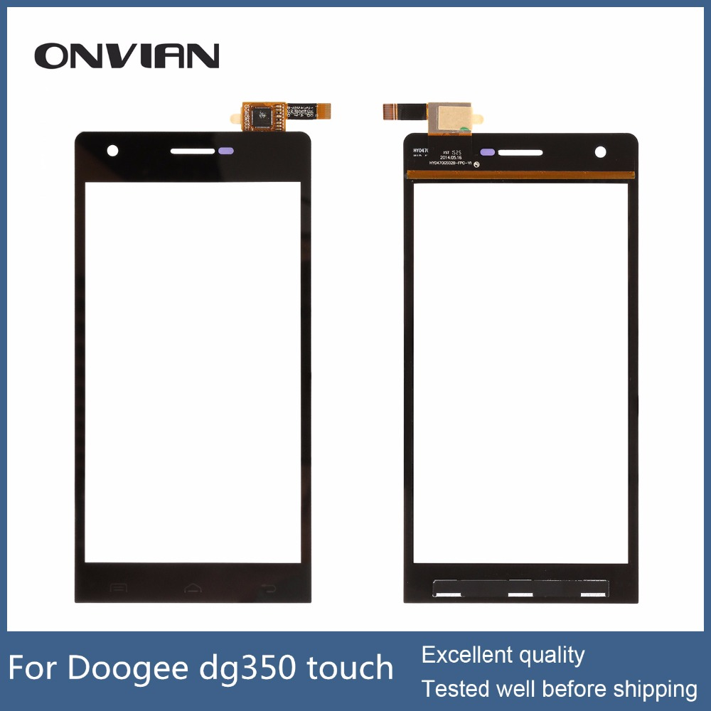 Black in stock Touch Screen Original High Quality Touch Panel Assembly Replacement for DOOGEE DG350<br><br>Aliexpress
