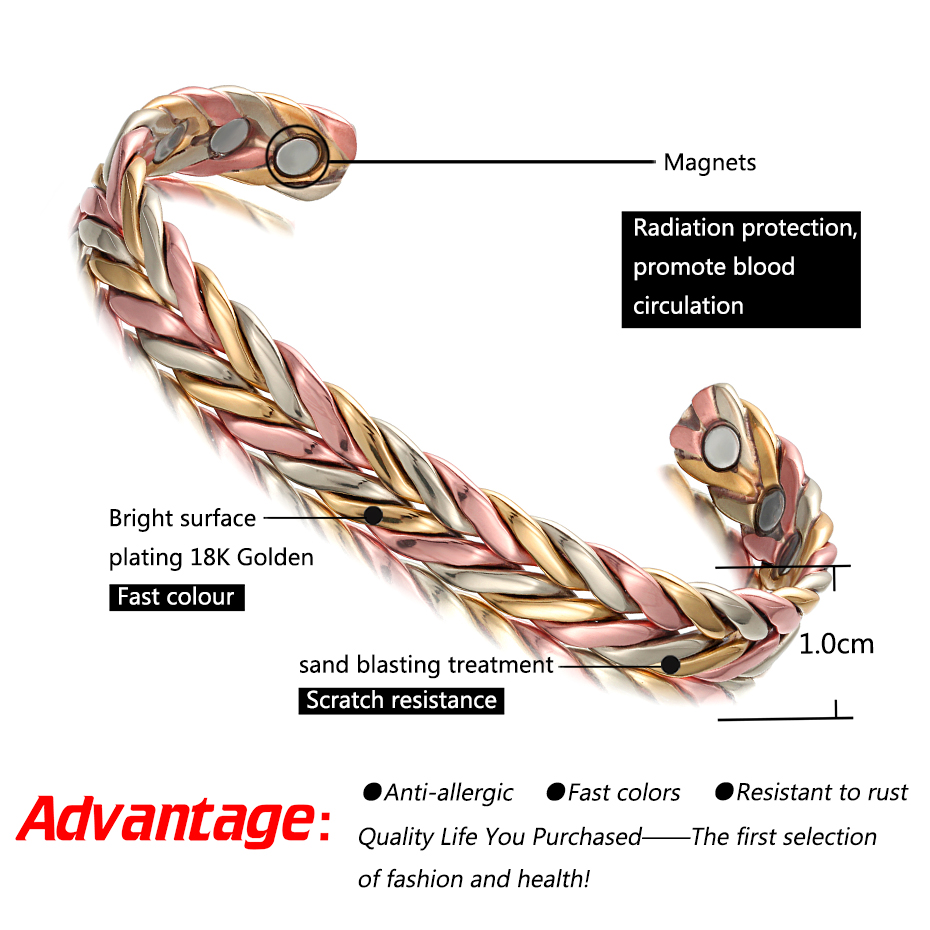 Health Energy Magnetic Bracelet  (2)