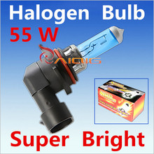 2pcs 9006 55W HB4 55W Halogen Bulbs super white Headlights fog lamps day light running parking 6000K 12V Head Car Light Source