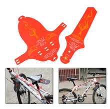 Buy 8Colors Bicycle Wings Commuter Saddle Ass Removable MTB Cycling Race Bicycle Mudguard Set Rear MTB Road bike front Rear fender for $4.98 in AliExpress store