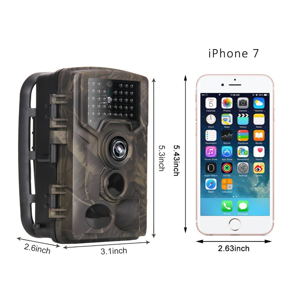 HC-800M 12MP 1080P Wildlife Camera Photo Traps Night Vision Trail Camera 2G GSM GPRS MMS SMTP Game Hunting camera1