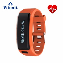 winaithot sell  IP68 Waterproof swimming heart rate smart bracelet Sport bluetooth smart watch F1 with 0.91 inch OLED display